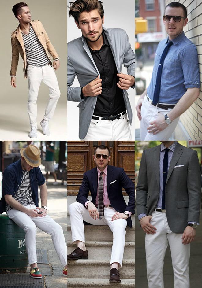 Jeans branco. Porque não usar?