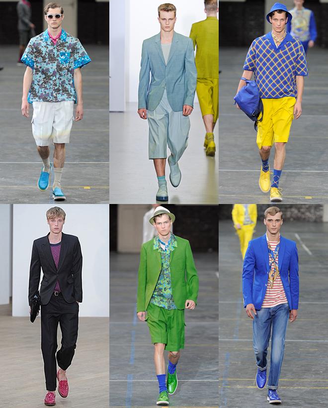 Tendência Masculina: Sapatos Coloridos