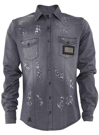 Tendência Masculina: Camisas Jeans para o Verão 2012/2013
