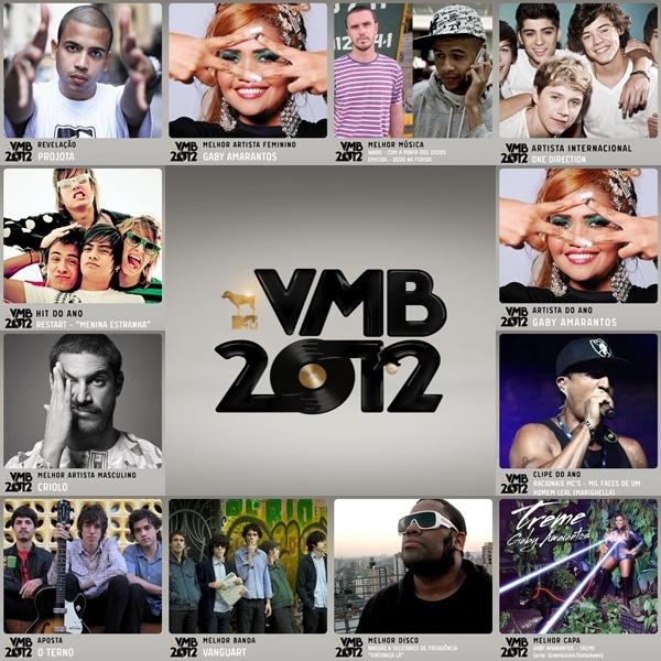 VMB 2012: Veja todos os vencedores