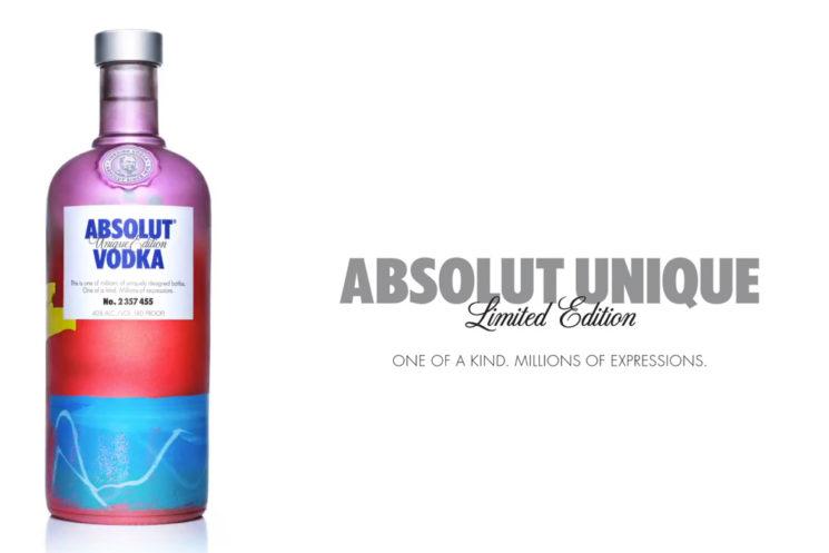 ABSOLUT UNIQUE – 4 milhões de garrafas de Vodka exclusivas