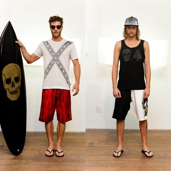 Alexandre Herchcovitch lança coleção verão 2013 em parceria com marca de surfwear
