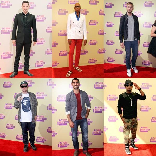 VMA 2012: Os LOOKS MASCULINOS da premiação.