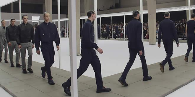 """Dior Homme apresenta a coleção """"Luz"""" para Primavera/Verão 2013"""