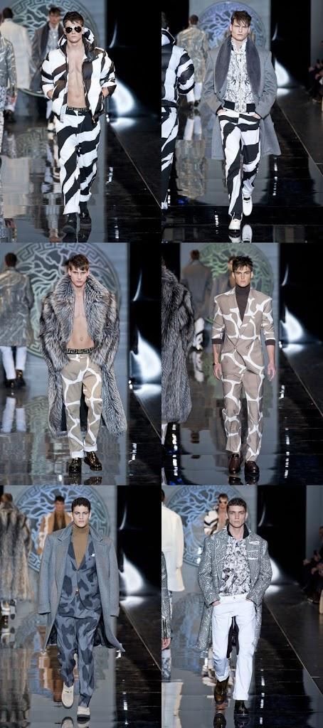Milão: Versace Inverno 2013 Masculino