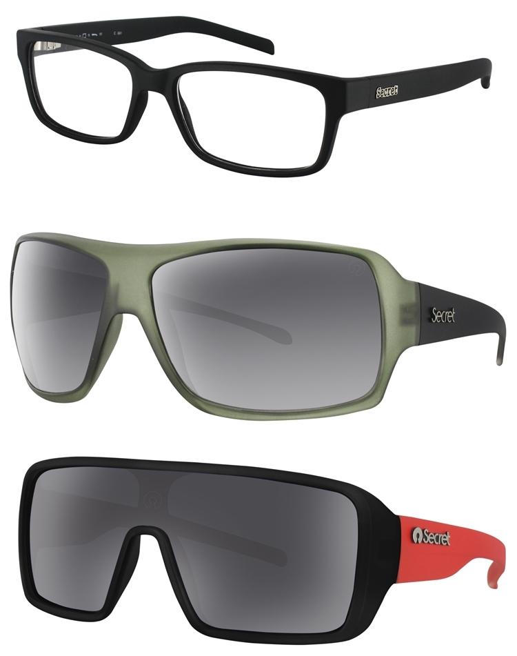 c84a21eee SECRET: O seu estilo de vida se reflete em tudo o que você faz e a escolha  das roupas aos óculos. Pensando nisso, a Secret lança modelos de prescrição  com ...