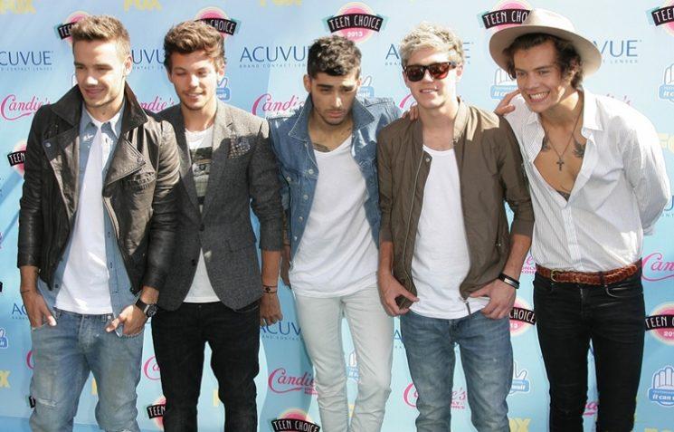 Famoso Estilo: One Direction no  Teen Choice Awards 2013