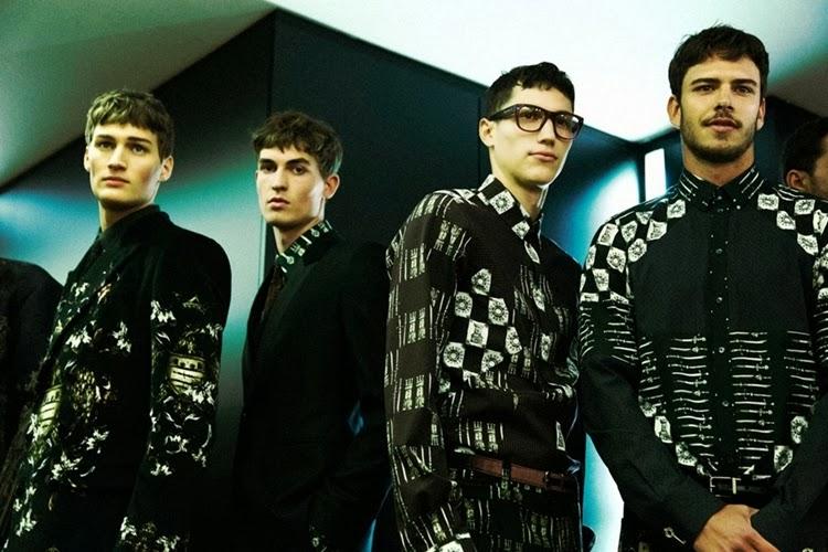 Borse Dolce Gabbana Inverno 2014 : Mil?o dolce gabbana inverno masculino moda sem