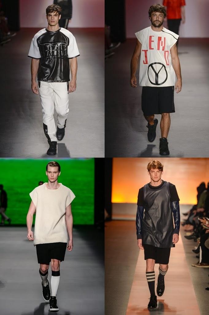 Camisetões esportivos, a nova tendência masculina