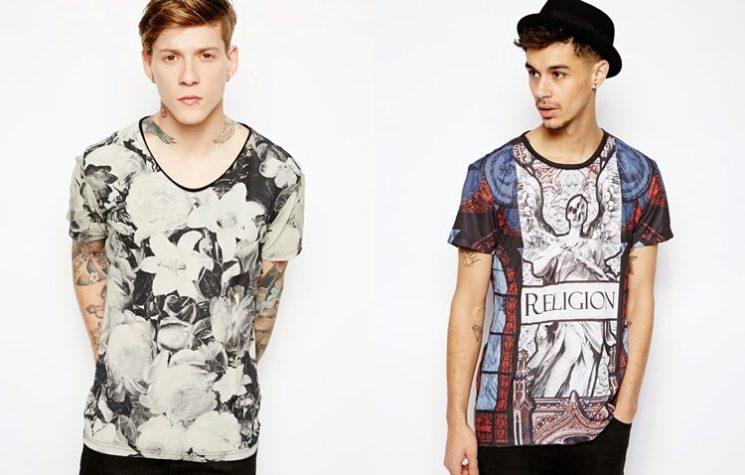 Camisetas estampadas masculina