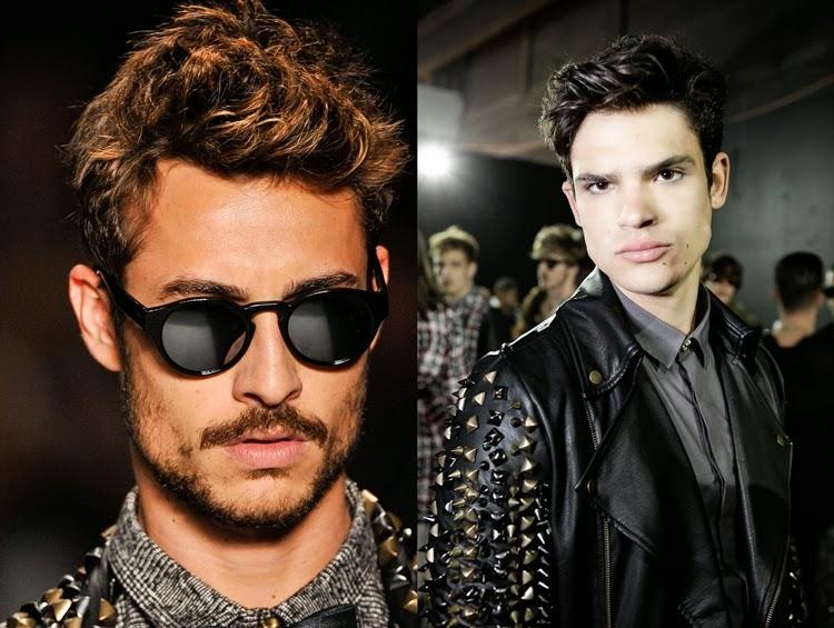 Os topetes masculinos de 2014