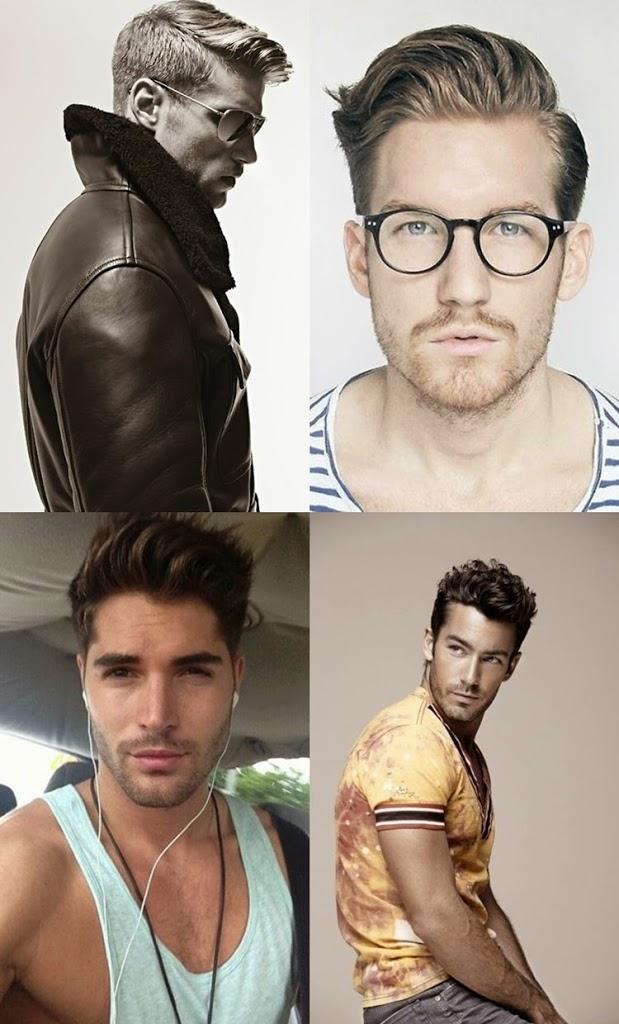 Estilos e cortes de cabelo masculino para o Inverno 2014
