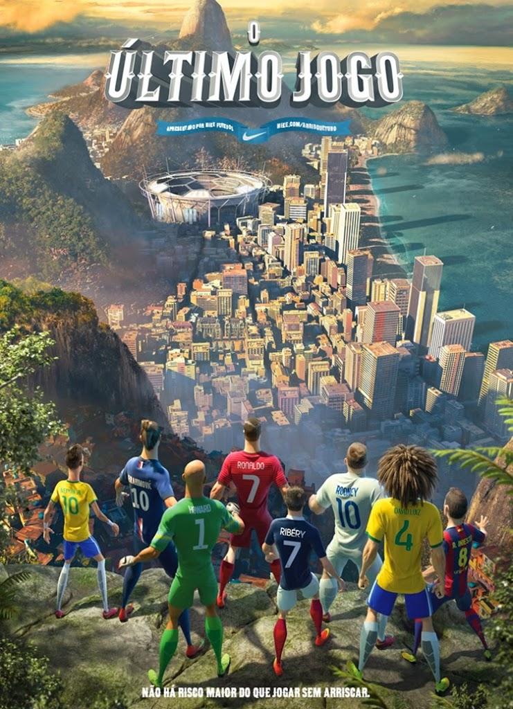 """Nike apresenta o """"Último Jogo"""""""