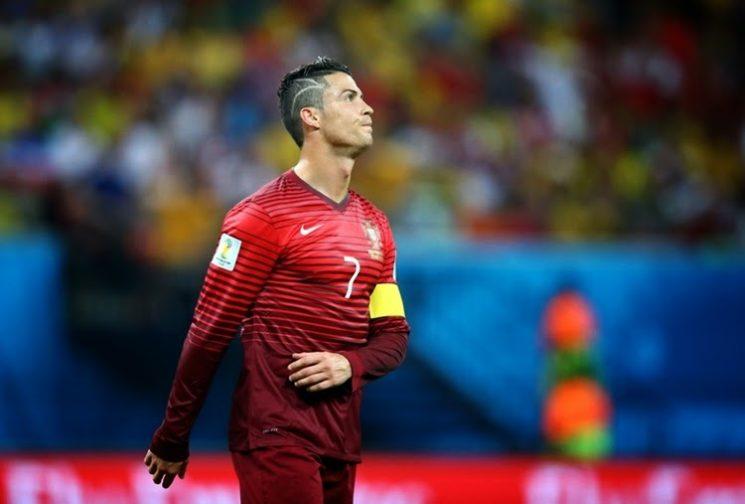 O novo corte de cabelo de Cristiano Ronaldo