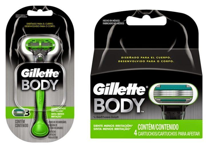 Gillette apresenta o novo Gillette Body