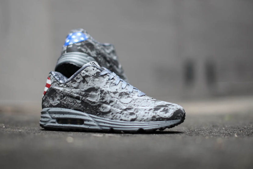 Nike Air Max Lunar 90 homenageia Apollo 11