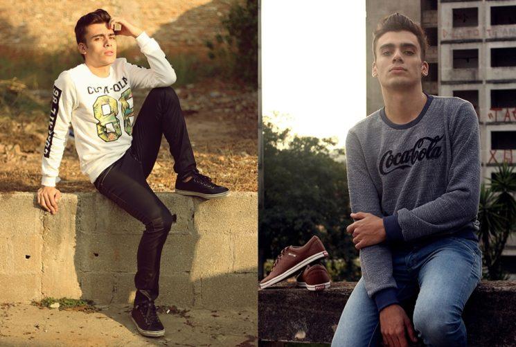 Alex Cursino na Coca Cola Jeans