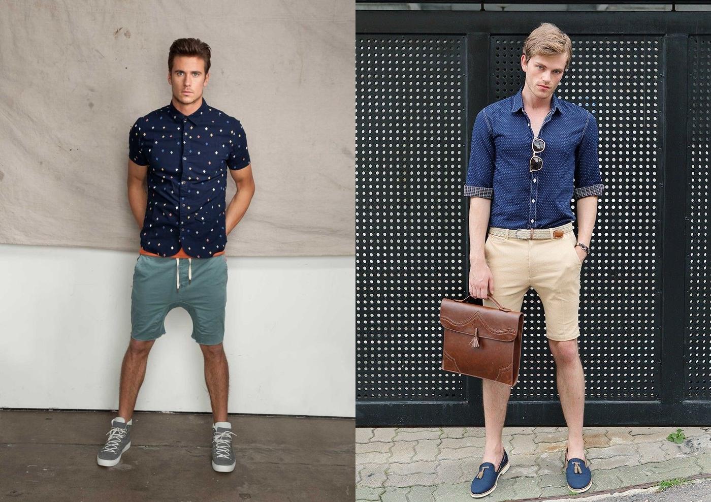 bermuda verão 2015, short verão 2015, bermuda com camisa, short com camisa, menswear, dicas de moda, roupas masculina, alex cursino, moda sem censura, fashion blogger, blog de moda masculina, 2