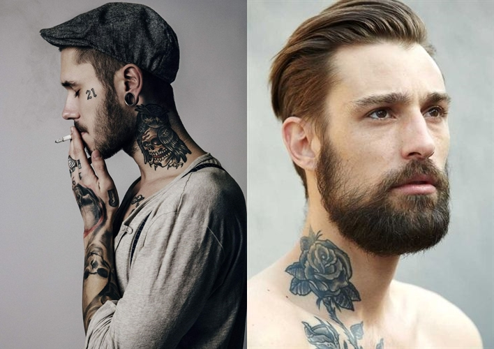 Tatuagem: Inspirações e desenhos para o pescoço