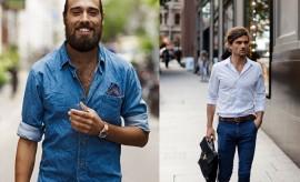 dobrar manga da camisa casual, moda masculina, estilo, style, dress code, fashion blogger, menswear, moda sem censura, alex cursino, blog de moda, blogueiro de moda,