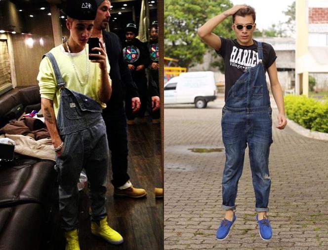 macacão masculino, macacão para homens, jardineiras masculinas, verão 2015, roupas masculinas, tendência masculina, alex cursino, justin bieber, moda sem censura, fashion blogger, style, estilo, 24