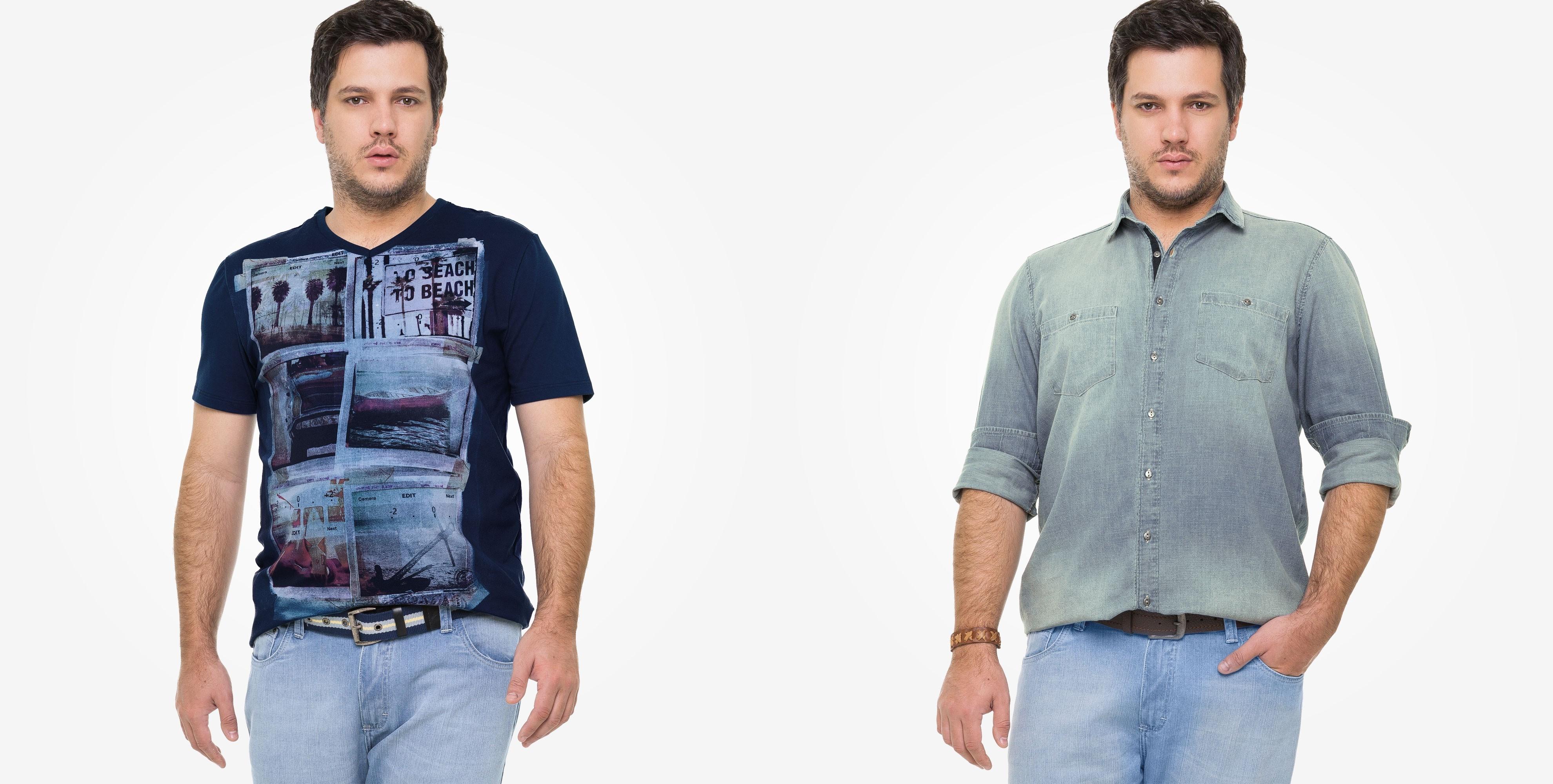 0af66affa106d1 4 lojas de roupas que todo homem plus size deve conhecer - MODA SEM ...