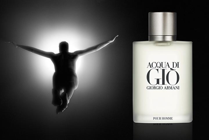 Acqua di Gio: a fragrância de Giorgio Armani