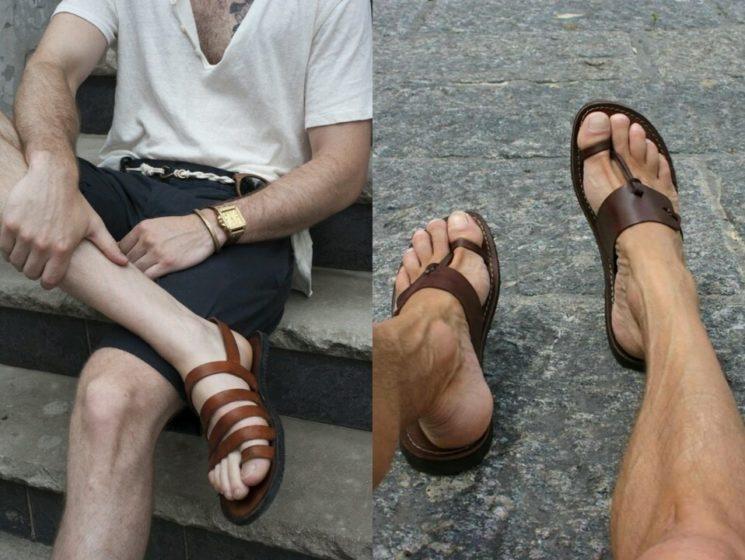Sandálias Masculinas do Verão 2015