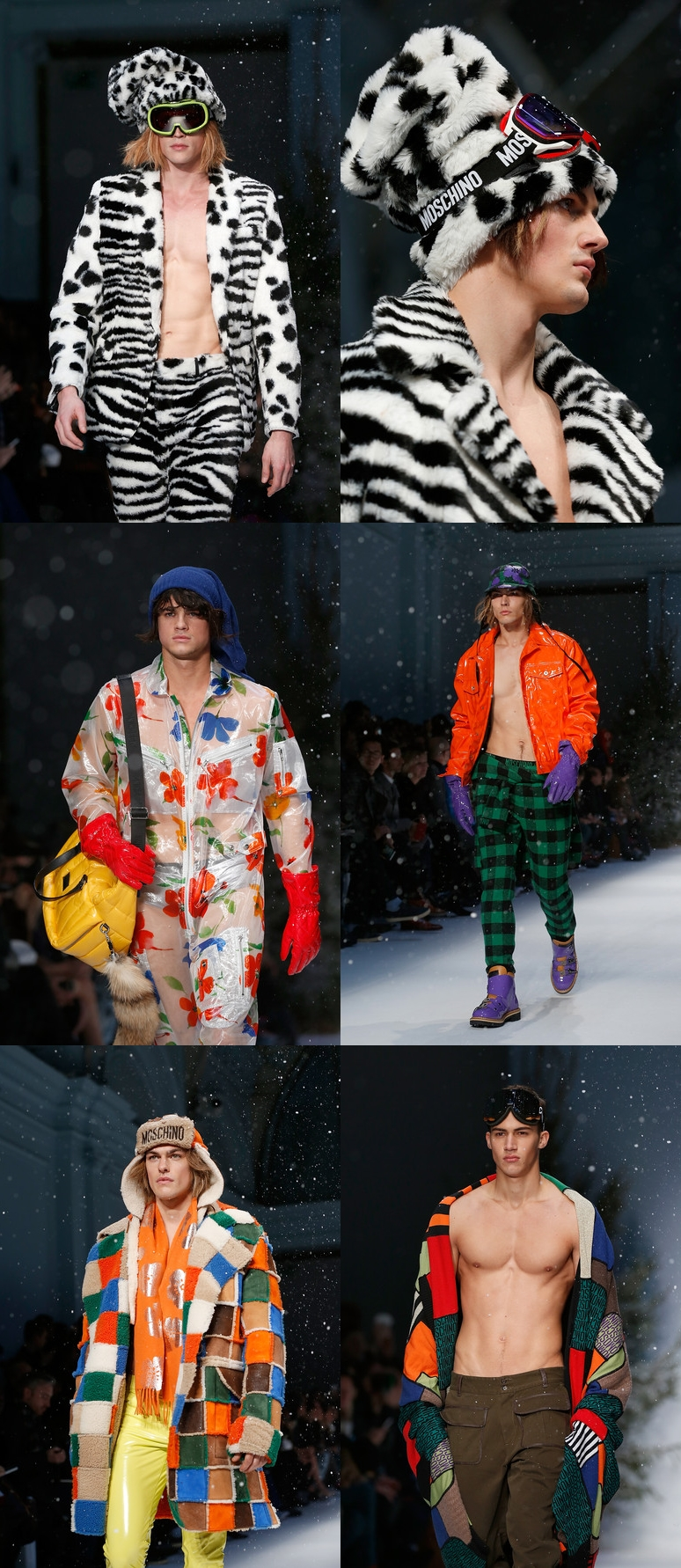 Moschino+Runway+London+Collections+Men+AW15+alex cursino, fashion blogger, moda sem censura, tendencia masculina, estilo masculino, moda masculina, fashion blogger, blogger,