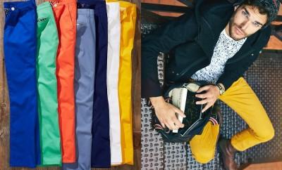 calça colorida masculina, collor pants male, men, menswear, moda masculina, estilo masculino, tendencia masculina, alex cursino, moda sem censura, fashion blogger, trends,