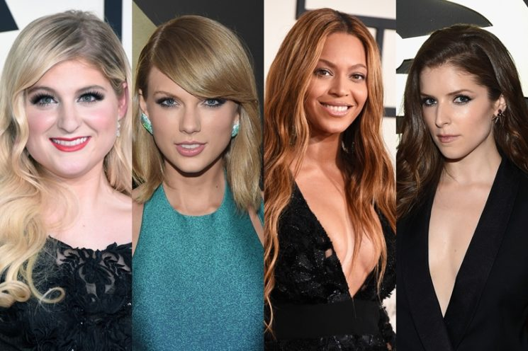 As musas do Grammy 2015