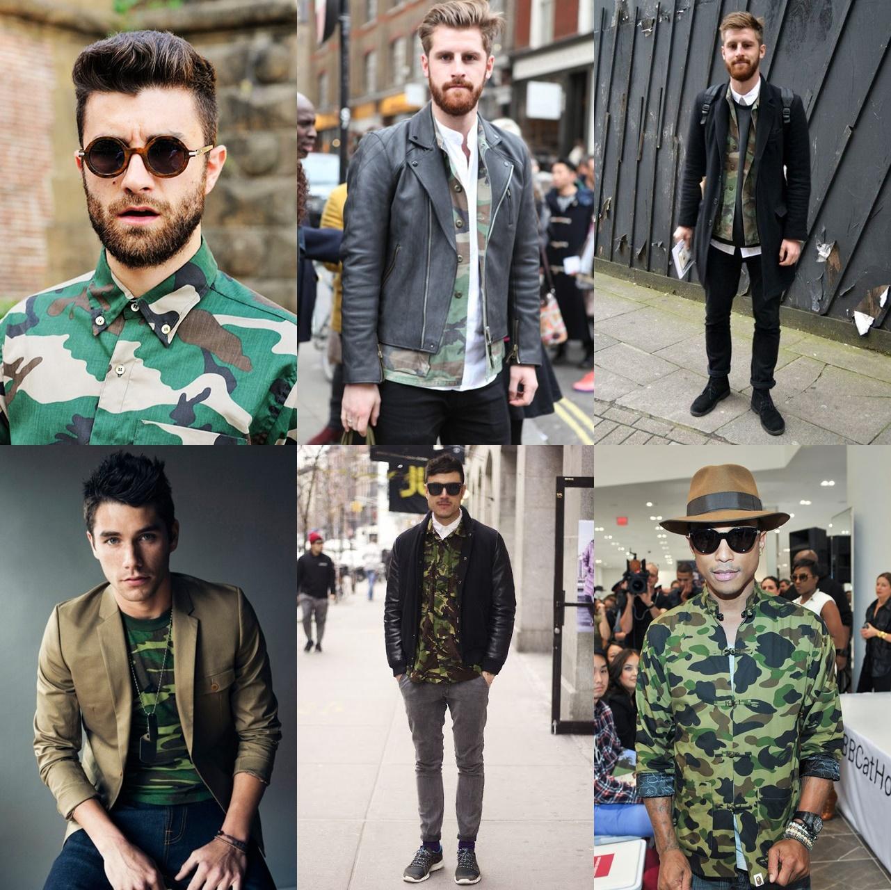 89a3b604aa8 Estampa camuflada para homens de todos os estilos - MODA SEM CENSURA ...