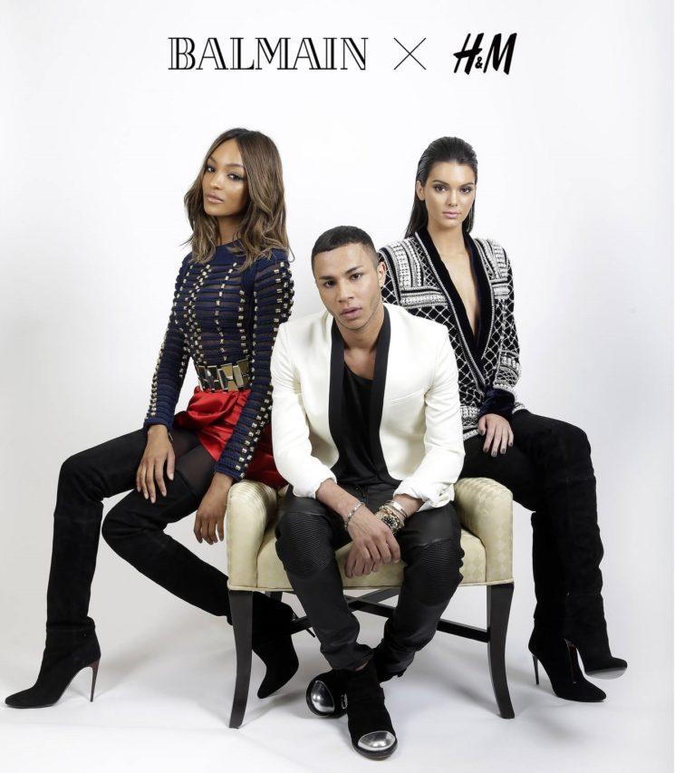 Balmain vai lançar coleção com H&M