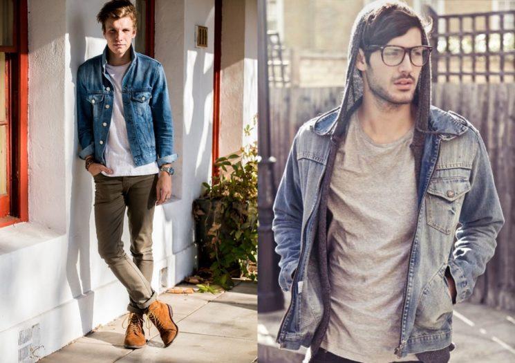 Como usar a jaqueta jeans masculina