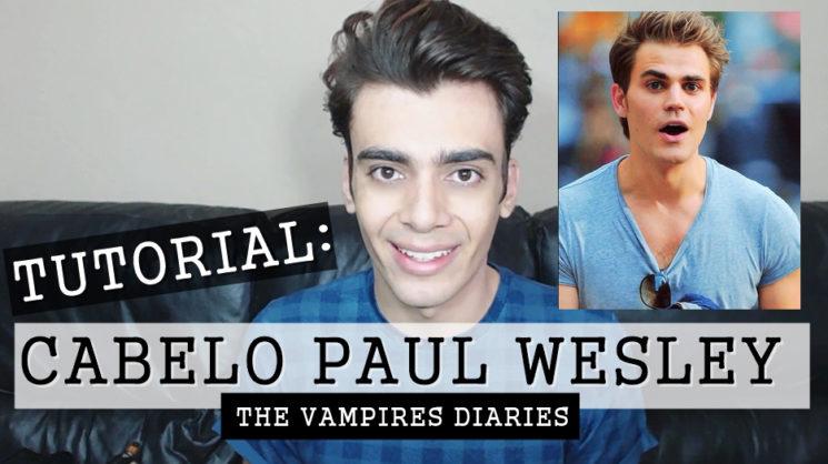 Cabelo de Paul Wesley de Vampires Diaries