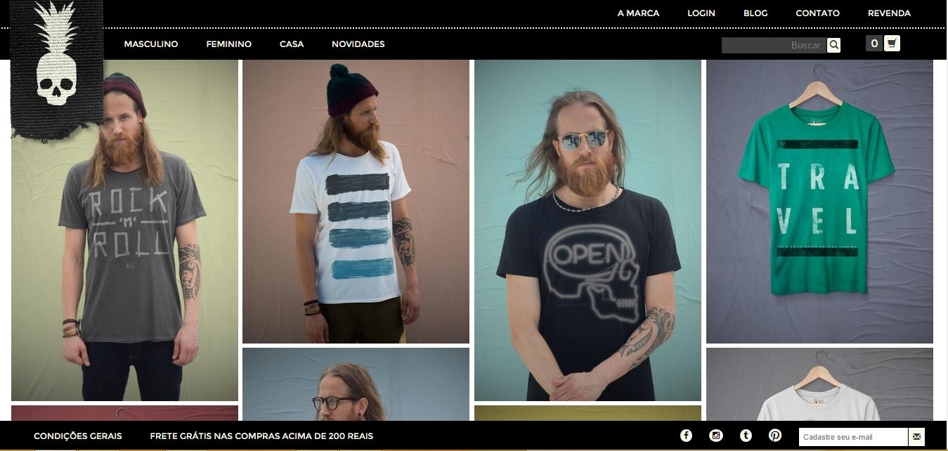 bc59f184c6 Onde comprar camiseta masculina estilosa online - MODA SEM CENSURA ...