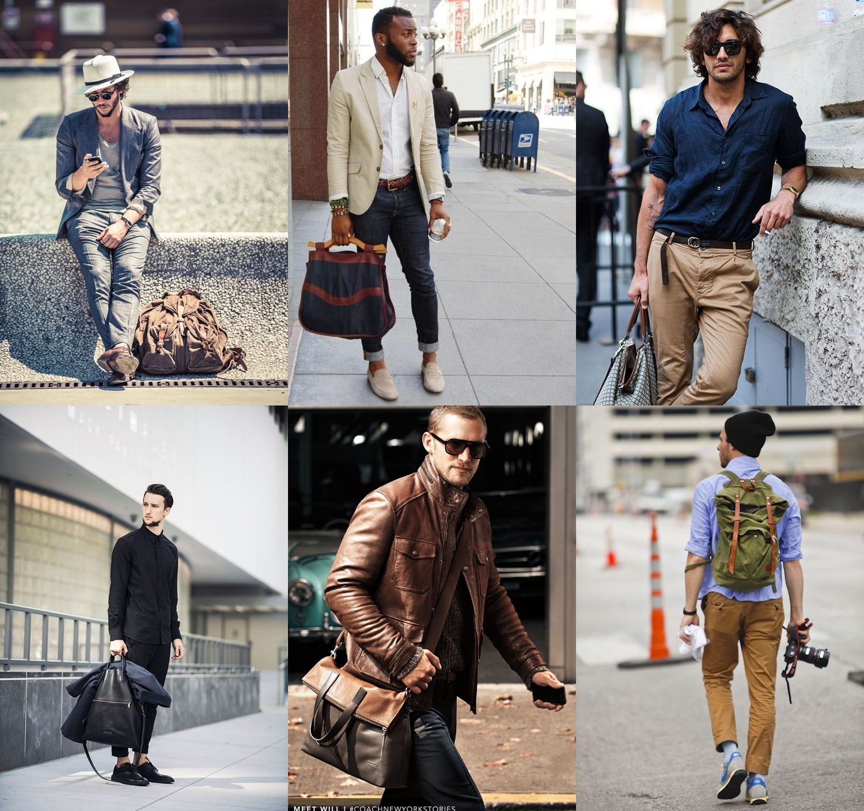Bolsa De Couro Masculina Lateral : Bolsa para homens moda sem censura de masculina