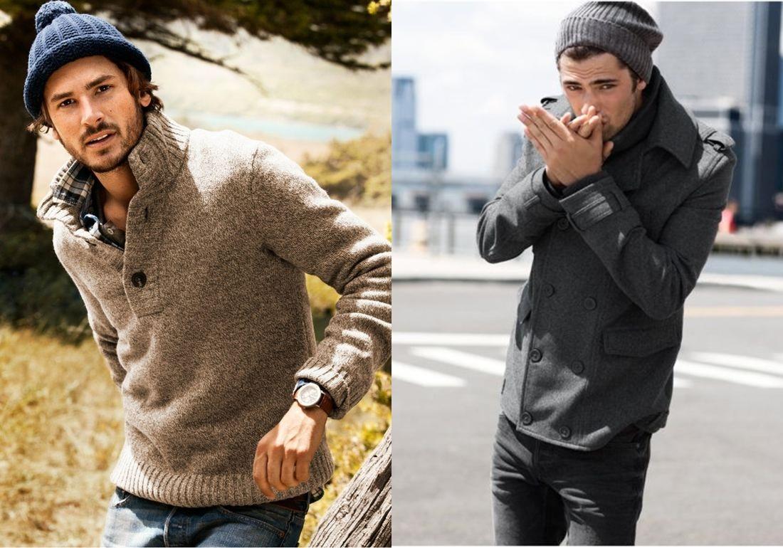 Como usar casaco de lã masculino com estilo - MODA SEM . 29557f3667e