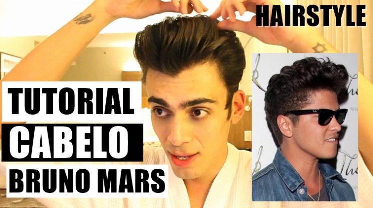 Como fazer o cabelo do Bruno Mars
