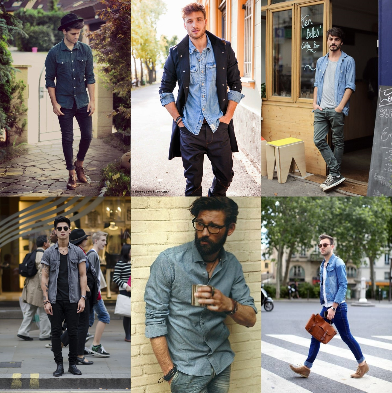 camisa jeans masculino, camisa jeans, moda masculina, moda 2016, tendencia 2016, menswear, style, estilo, alex cursino, moda sem censura, blog de moda, fashion blogger, fashion tips, 2