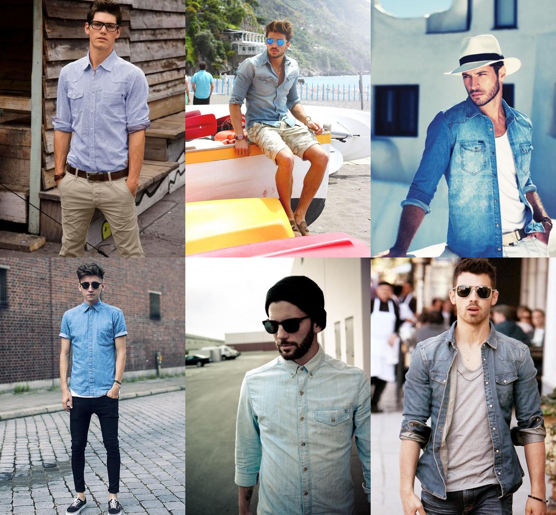 camisa jeans masculino, camisa jeans, moda masculina, moda 2016, tendencia 2016, menswear, style, estilo, alex cursino, moda sem censura, blog de moda, fashion blogger, fashion tips, 4
