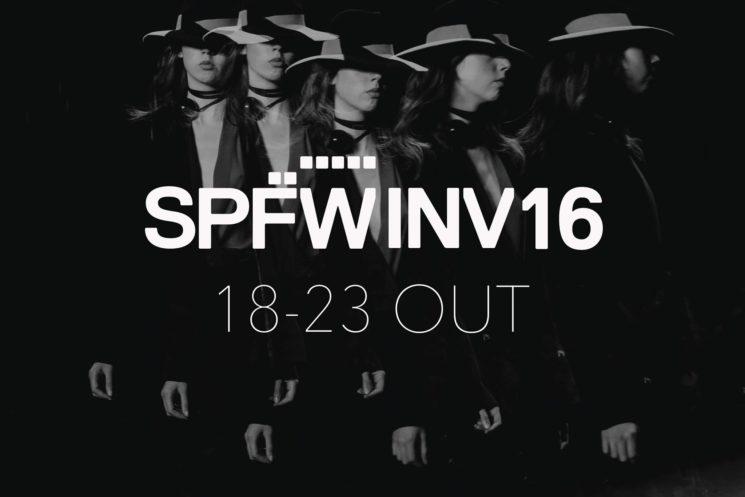 SPFW Inverno 2016 tem data marcada