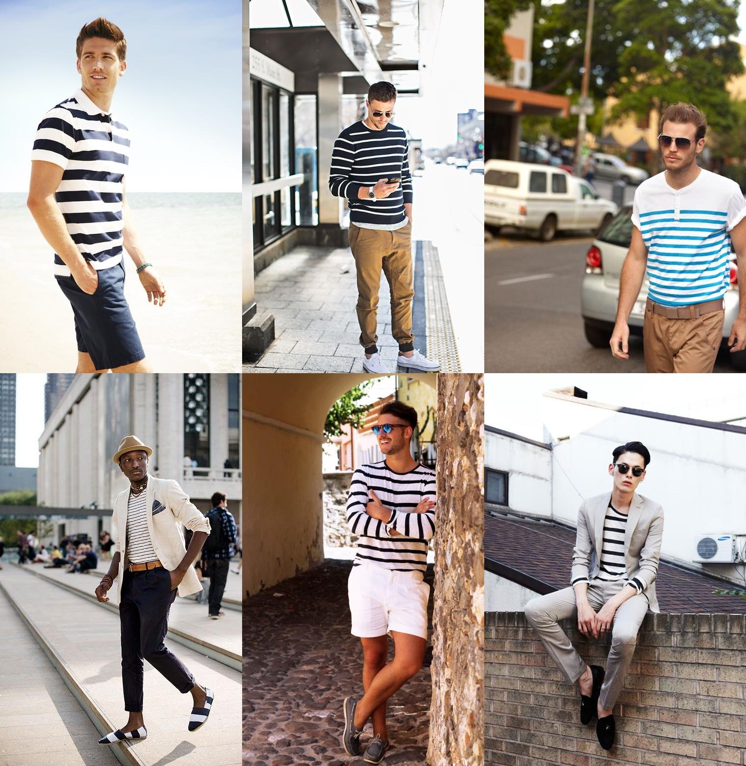 Resultado de imagem para listras  moda masculina