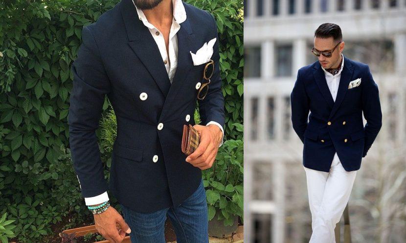 Tendência masculina: blazer transpassado