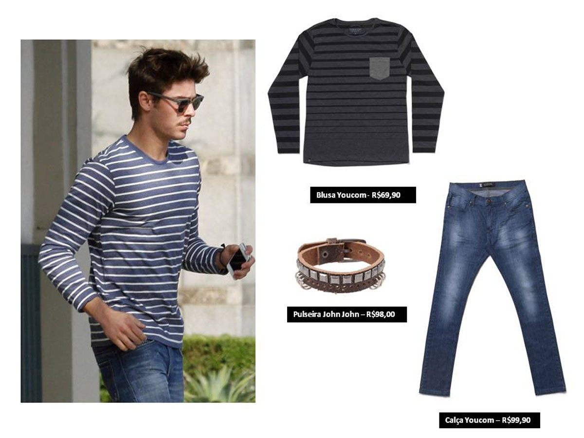 Inspira o de looks zac efron moda sem censura blog de Fashion style 101 blogspot