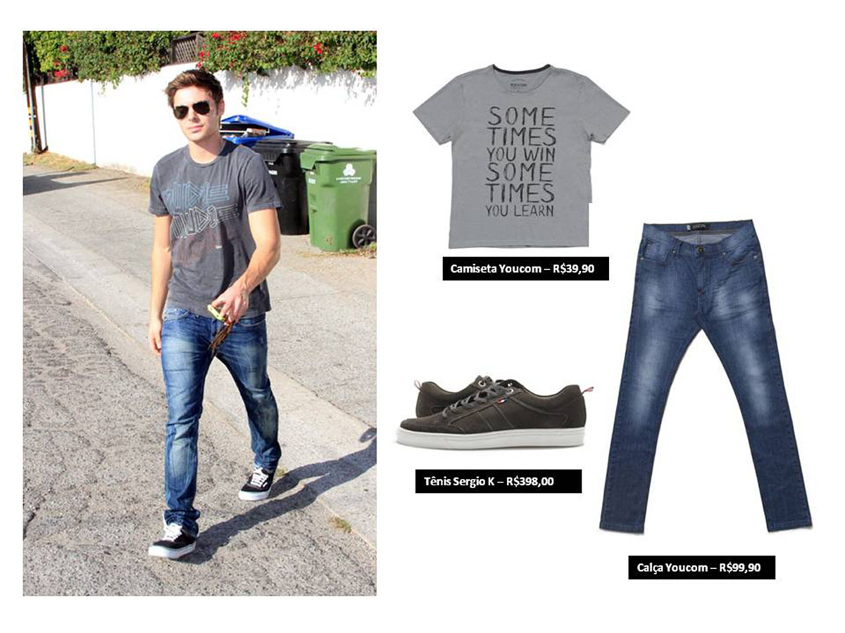 Zac Efron 1, moda sem censura, menswear, blog de moda, blogger, fashion blogger, blogueiro de moda, moda, style, fashion tips, style tips, dicas de moda para homens