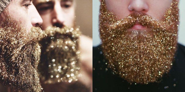 Glitter Beard: a moda da barba com glitter