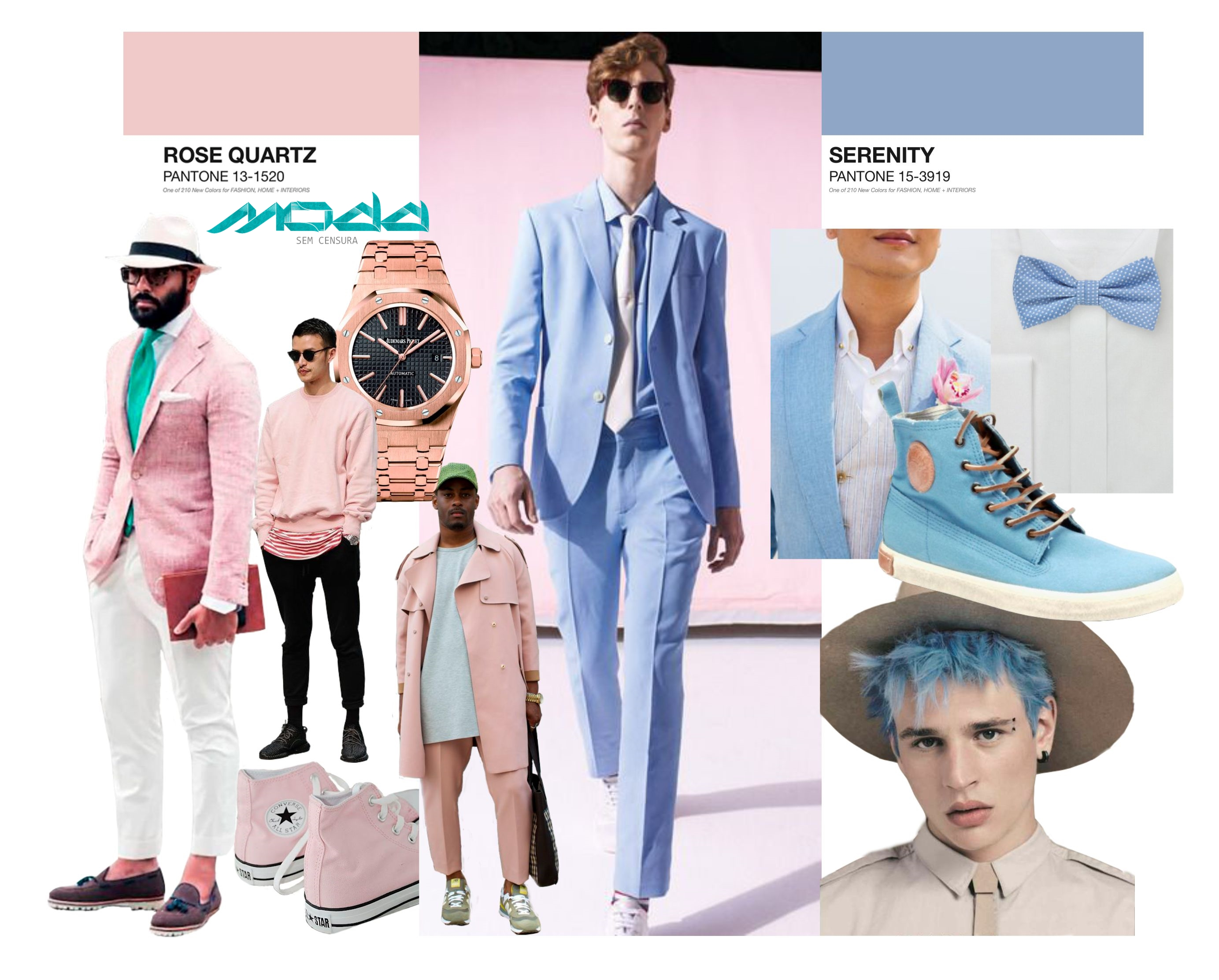 Pantone 2016 color of the year moda sem censura for Color of the year 2016