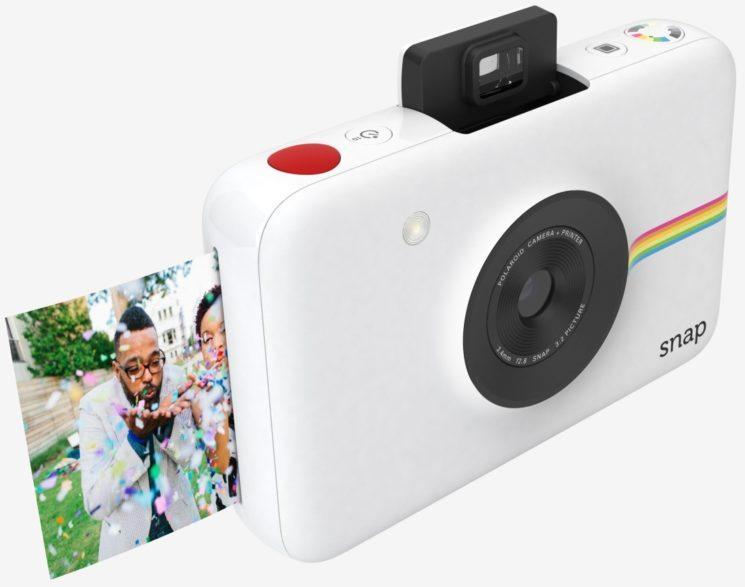 Câmera imprime foto na hora e sem tinta