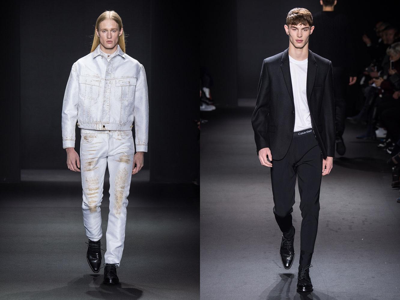 762542b74170d Fall Winter 2016 2017 Menswear Collections. A Calvin Klein ...